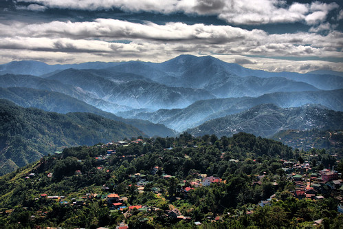 sky mountains berg fog by clouds forest island asia asien village view dal jungle valley skog mines filipino baguio utsikt hdr pinoy philipines pilipinas luzon phillipines pinas benguet minesview phillippines filippinerna mineview filipinsk filipinerna filippinsk