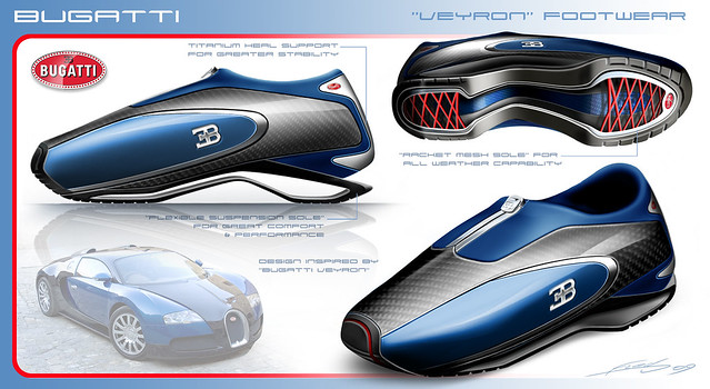Bugatti Veyron Shoes