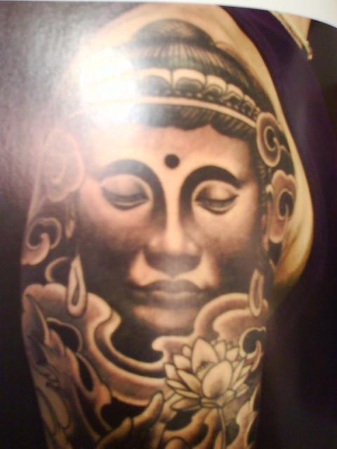 buddha face tattoo | Flickr - Photo Sharing!