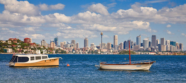 Sydney from Rose Bay