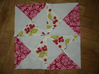 Quilt block for show and tell