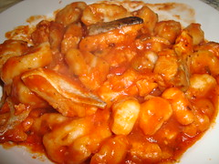 seafood, kung pao chicken, food, dish, cuisine,