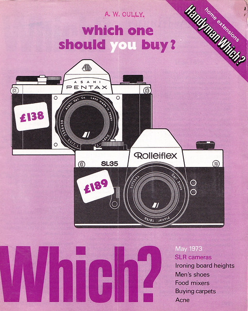 Which? Magazine May 1973