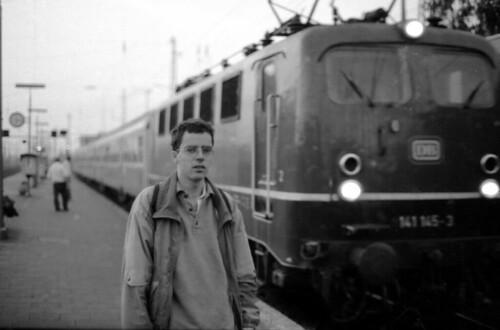 Selbst am Bahnhof von Neuwied 18.8. 1988