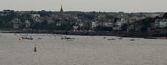5 - 4 juin 2009 Le soir, depuis les remparts de Saint-Malo Vue sur  Dinard