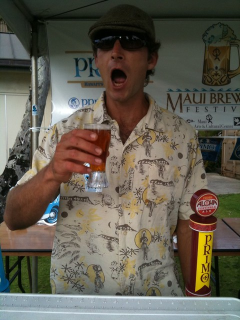 Primo Aloha Festival Ale goes highly recommended at Maui Brewers Festival