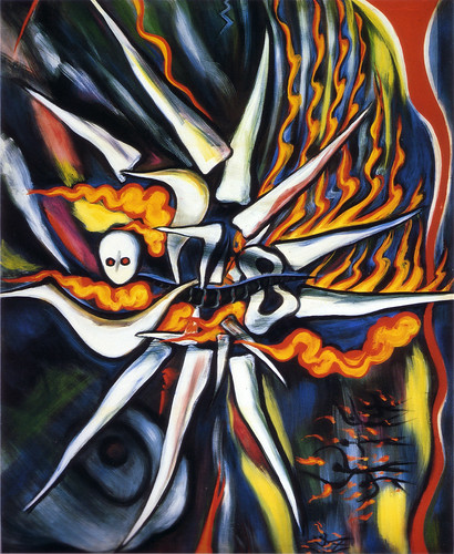岡本太郎「明日の神話」(1968)