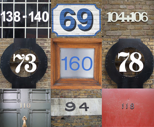 The numbers of Wapping High Street
