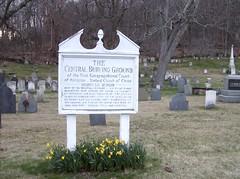 Central Burying Ground, Holliston Mass.