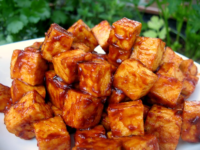 BBQ Tofu | Flickr - Photo Sharing!
