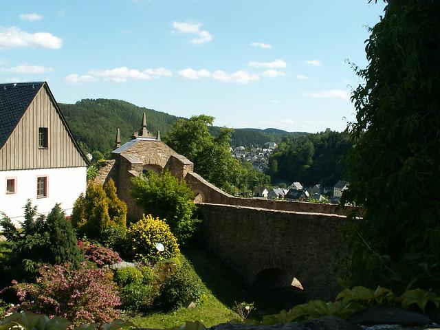 Erzgebirge - Burg Scharfenstein