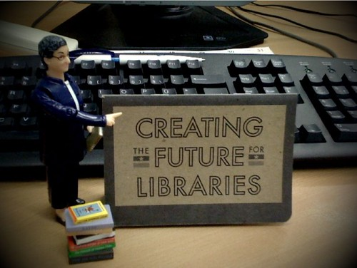 i'm CREATING the FUTURE for LIBRARIES