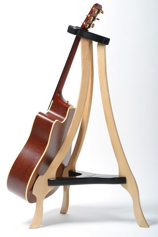 maple wood acoustic guitar stand explore designsbyg22 39 s ph flickr photo sharing. Black Bedroom Furniture Sets. Home Design Ideas