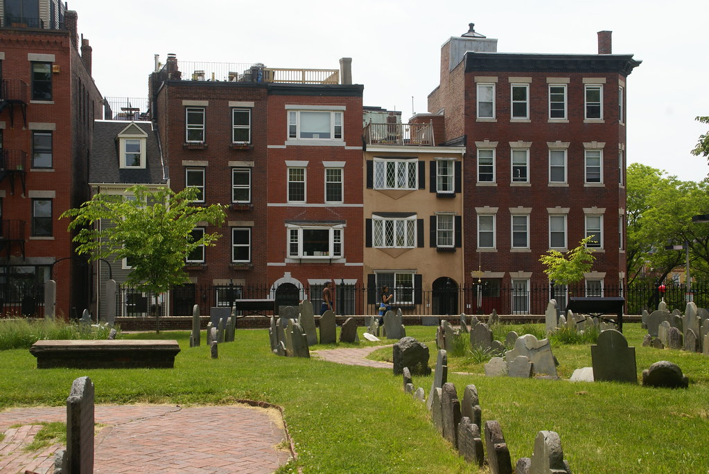 Copps Hill Cemetery, North End