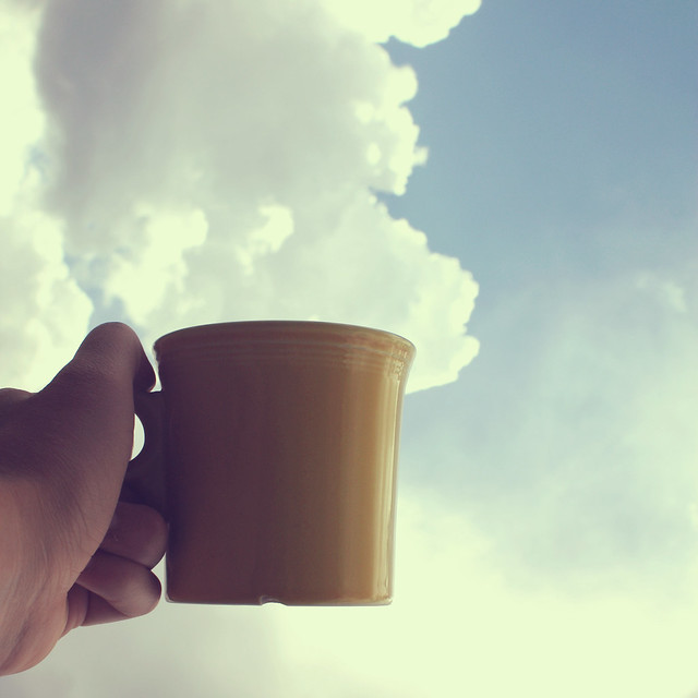 """I had some dreams, they were clouds in my coffee."""