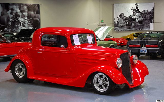 1934 chevrolet 3 window coupe mod red fvr flickr for 1934 chevrolet 3 window coupe