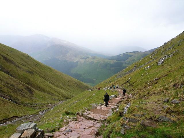 Climbing Ben Nevis - Flickr CC livepine