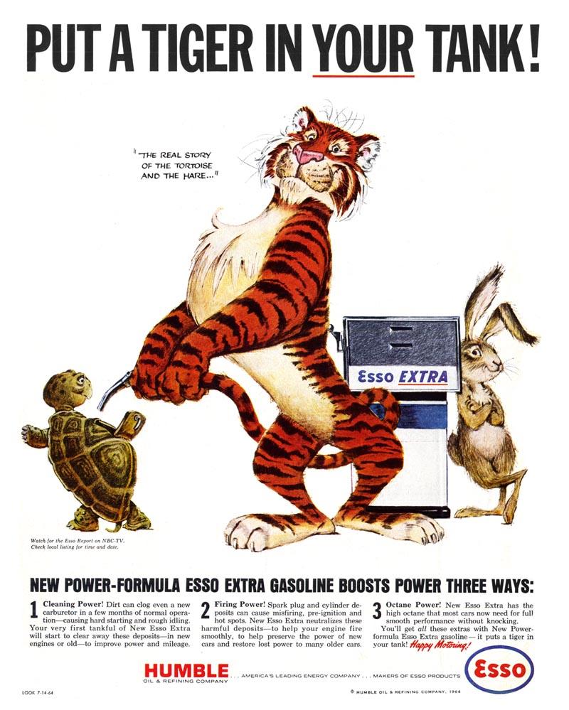 Today's Inspiration: Bob Jones and the Esso Tiger