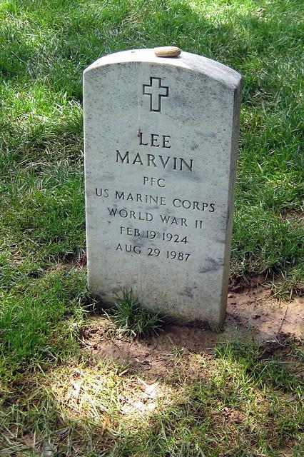Virginia Arlington National Cemetery Lee Marvin