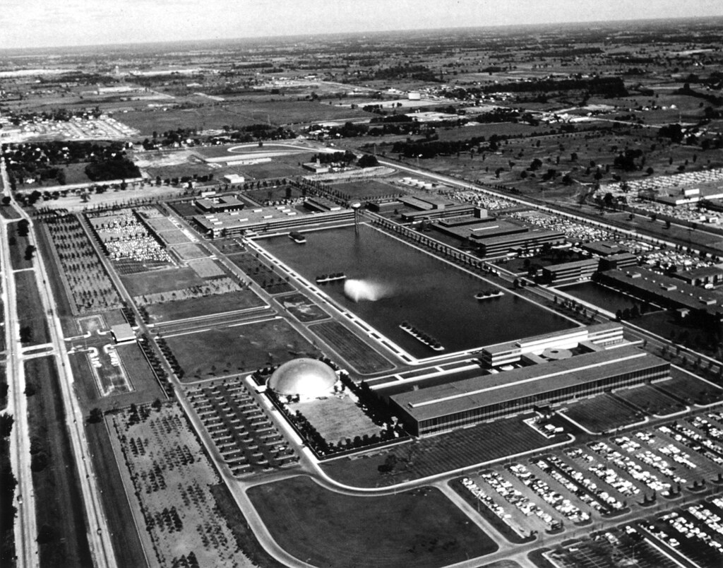 General Motors Technical Center 1956 Eero Saarinen A