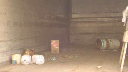 Chaska Building Center - Urban Waste - Inside a Semi Trailer Stroage Shed on the property