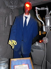 Goodyear Pop Bottle Suit At Ripley's Wisconsin Dells.