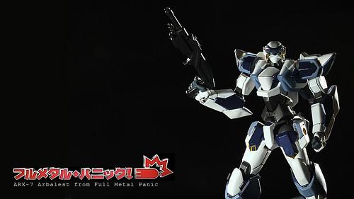 Arbalest ARX-7 from Full Metal Panic! フルメタル·パニック! (Revoltech version)