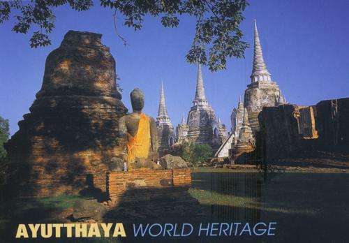 Ayutthaya-Historical-Park,-Thailand-UNESCO