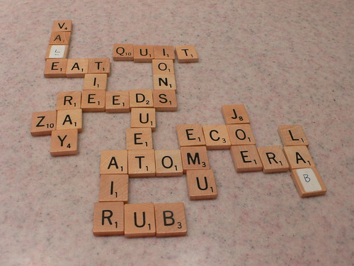 Abstract Scrabble, first half