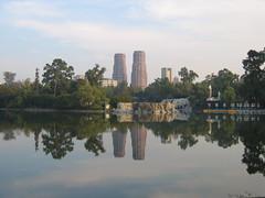 Lago Mayor. Bosque de Chapultepec