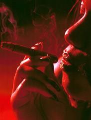 Sandi Philadelphia Studio Relishing the Joy of Smoking Nov 1997 002 the satisfaction of smoking
