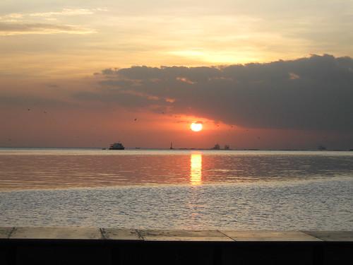 BREATHTAKING SUNSET IN MANILA