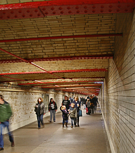 South Kensington Tunnel by Simon Godley