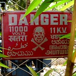 DANGER....in 8 languages