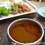 Malaysian Food, Satay - Melaka, Malaysia