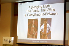 slide: 7 blogging myths   blogging, copywriting, and…