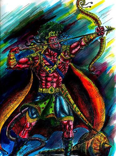 Character Design Hanuman : Jai hanuman new avatar flickr photo sharing