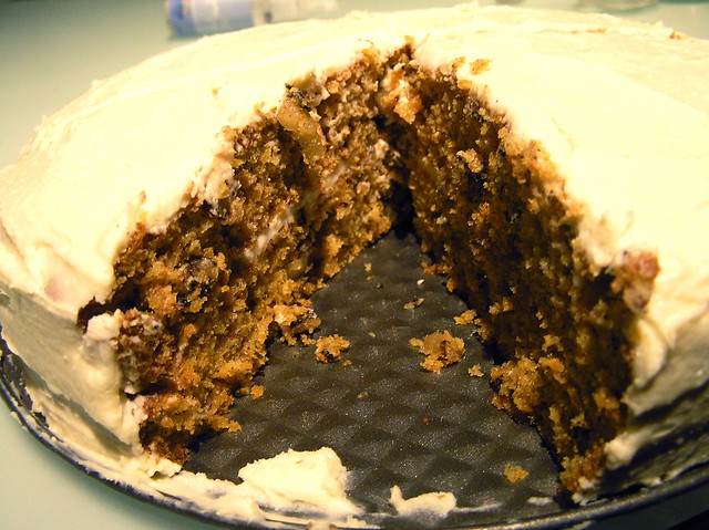Carrot Cake | Recipe for carrot cake and cream cheese frosti ...