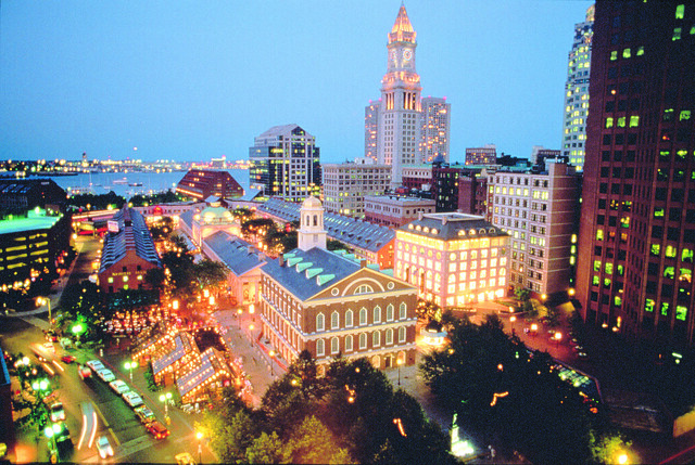 New England's top 5 cities