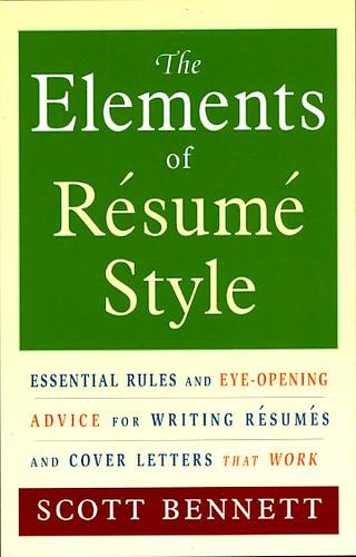sample of resume format