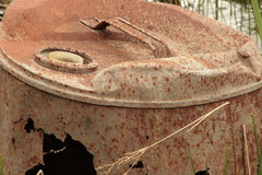 Rusted Oil Can