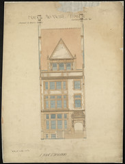 House for Mrs. Nathaniel Thayer [Front elevation]