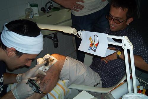 Original temporary tattoos bart simpson tattoo for Homer simpson vagina tattoo