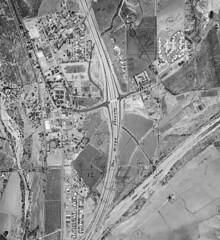 San Juan Capistrano aerial view, 1959