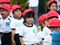 14 - faces during sports day