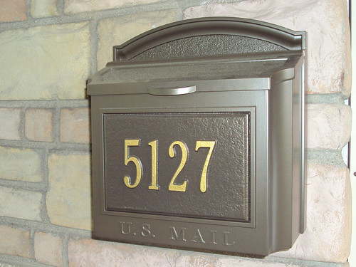 Whitehall Wall Mount Mailboxes Install Gallery