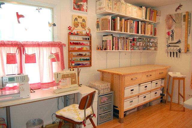 Miss sews it all sewing room rearranged for Craft and sewing room ideas