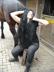 Friso groomen - 21 juni 2009