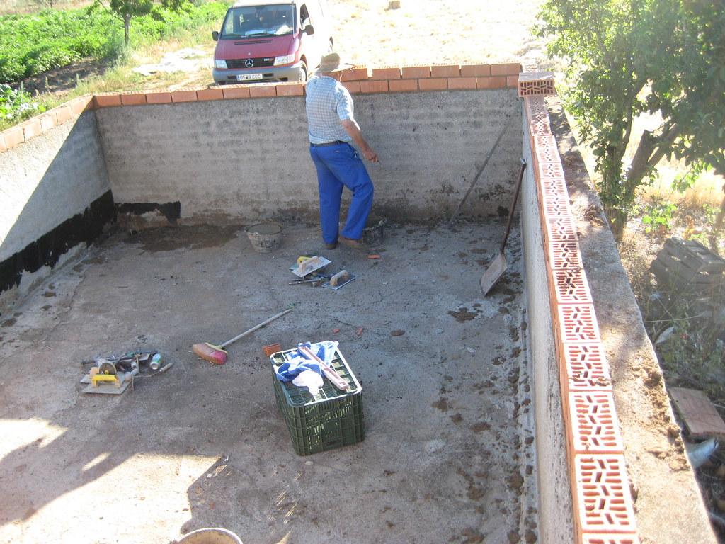 Ver tema trabajando con poliester for Como hacer un estanque para criadero de tilapia