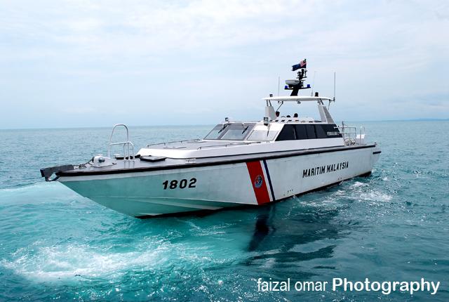 Malaysian Maritime Enforcement Agency Petrol Boat